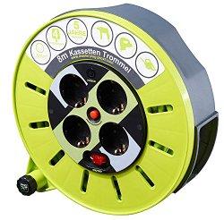 Kabeltrommel Test: Masterplug Pro-XT KASSETTE S Kabelbox 8m